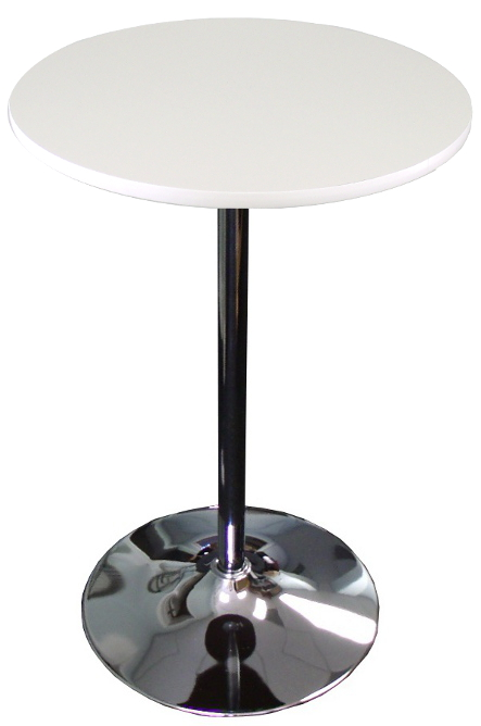 banquet tables pro white top 24 inch round banquet cocktail table walmart com