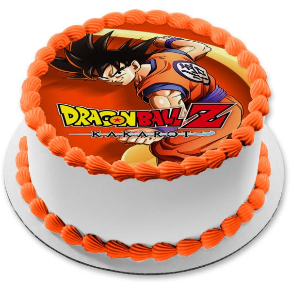 Dragon Ball Z Kakarot Yamcha Edible Cake Topper Image Abpid51872 8 In Round Walmart Com Walmart Com