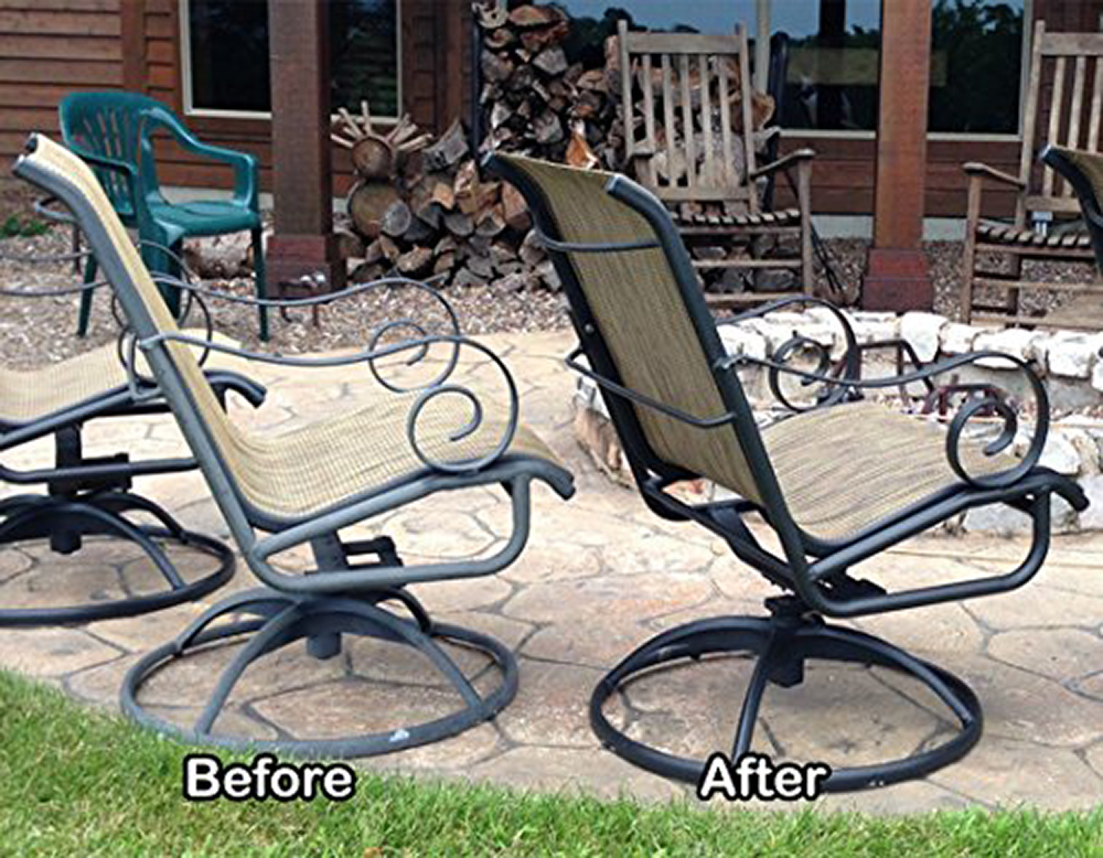 al new aluminum restoration cleaning solution clean restore patio furniture stainless steel and more 16 oz