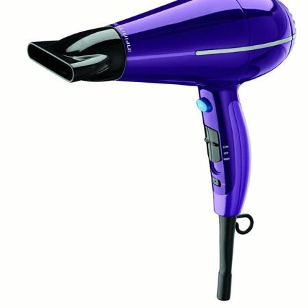 conair infiniti pro pact dual voltage hair dryer purple walmart