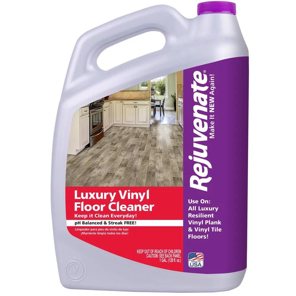 how do you clean luxury vinyl tiles