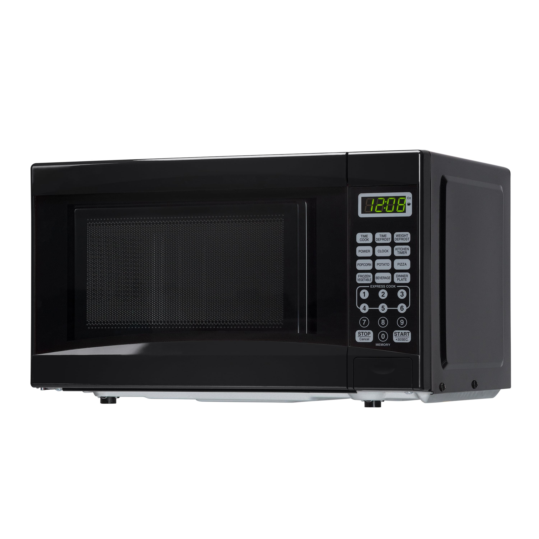 daewoo 0 7 cu ft retro microwave oven