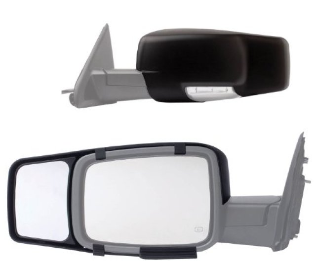 80710 Fit System 09 17 Custom Fit Towing Mirror Dodge Ram Pick