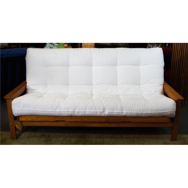 naturally sleeping ccf 02 ch28 28 in chair size deluxe futon mattress