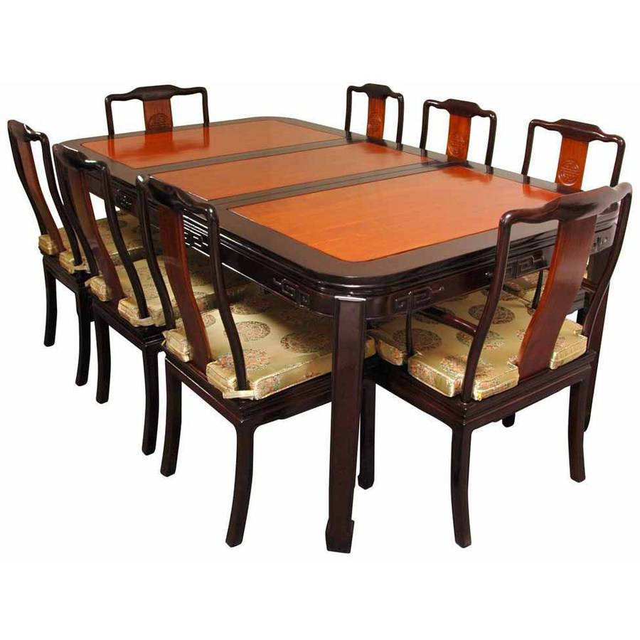 Two Toned Dining Room Sets Dining Sets Two Tone Solid Wood Traditional Black Oak Two Tone