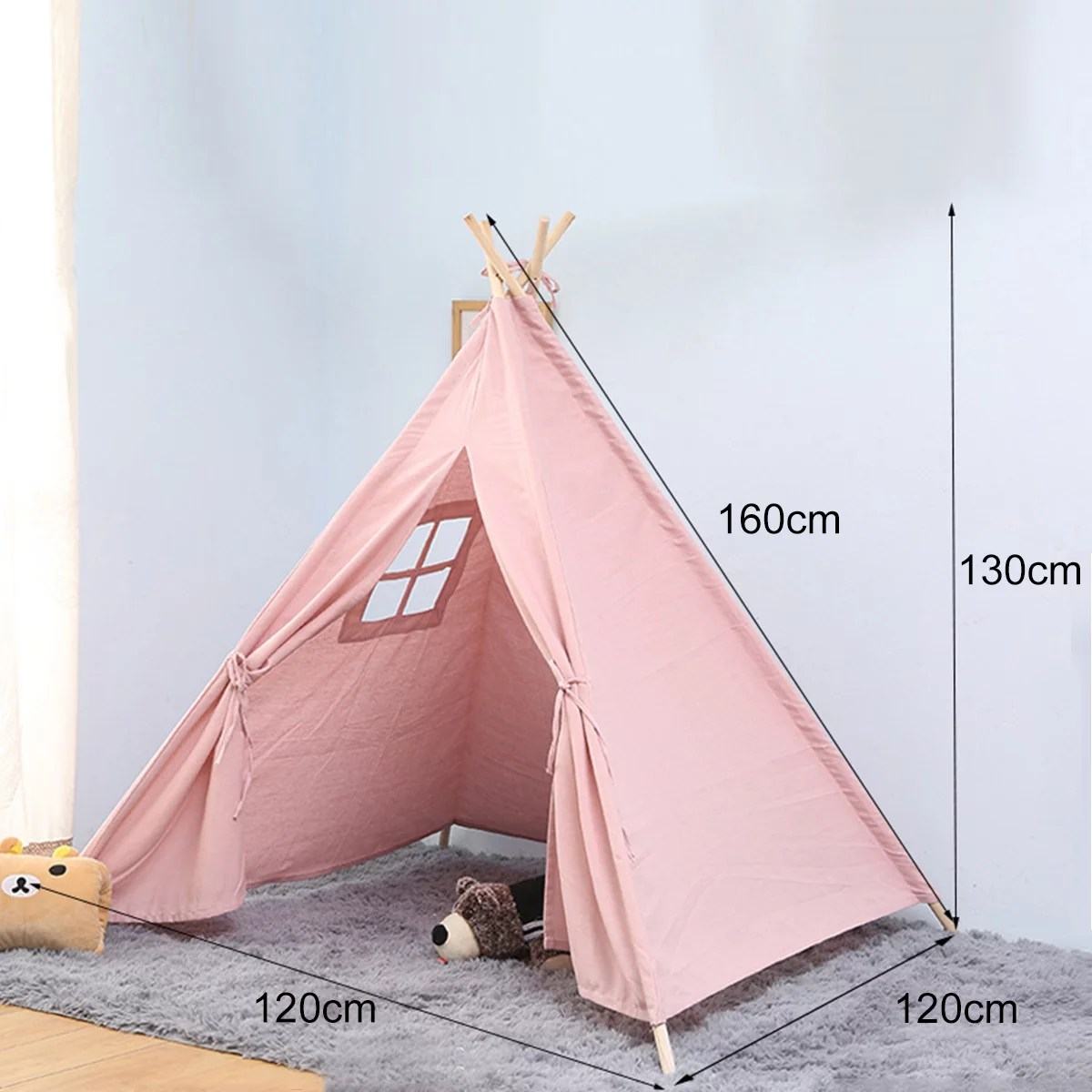 tents for kids outdoor indoor strip teepee tent for girls birthday gift portable kids playhouse sleeping dome play tent for boys princess castle play house for children walmart com walmart com