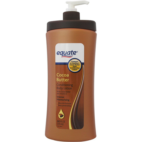 Equate Cocoa Butter Lotion  24 5 Fl oz   Walmart com