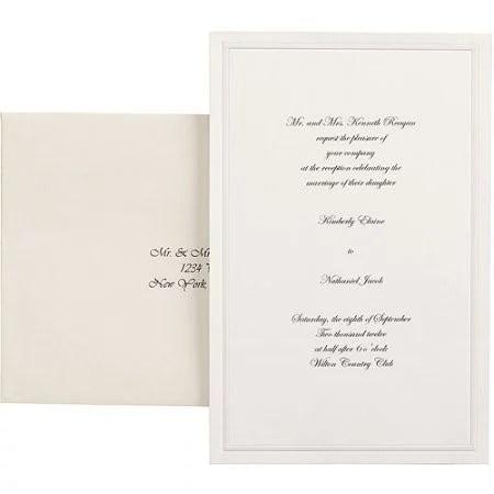 Wilton Invitation Kit 100 Ct