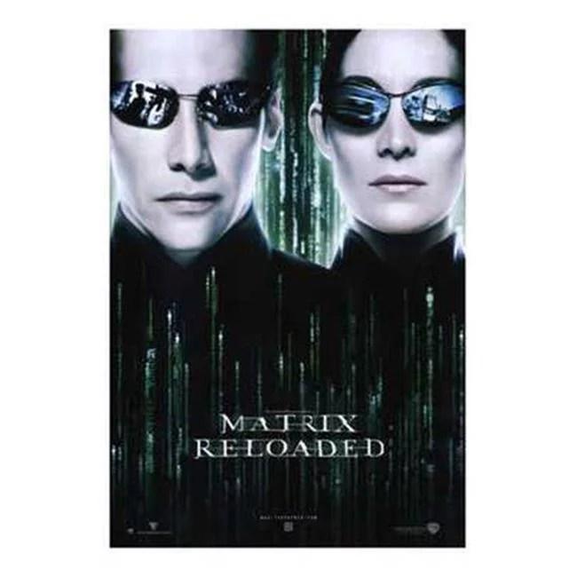 posterazzi mov194525 the matrix reloaded movie poster 11 x 17 in