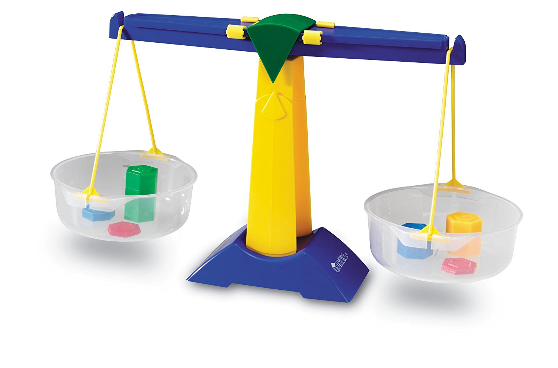 Learning Resources Pan Balance Jr 500ml Zero Adjustment