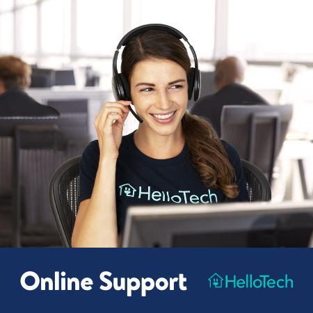 One-Year Online Computer Support by HelloTech
