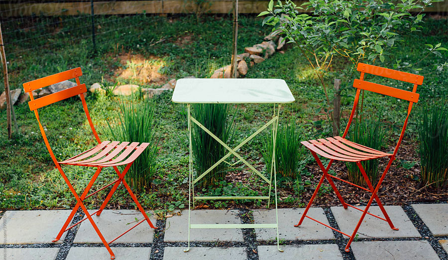 how to update patio furniture with