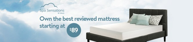 Zinus Own The Best Reviewed Mattress Starting At 89