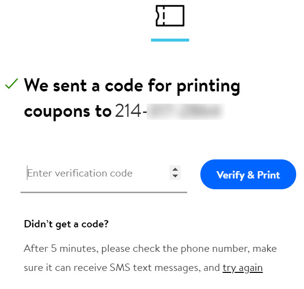Walmart Com Help Printing And Using Coupons