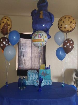 New Sesame Street Cookie Monsters 1st Birthday Party Supplies Walmart Com Walmart Com