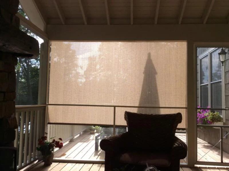 coolaroo select almond sun shade