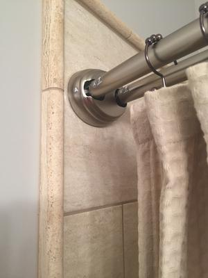 better homes gardens double curved tension shower curtain rod 1 each