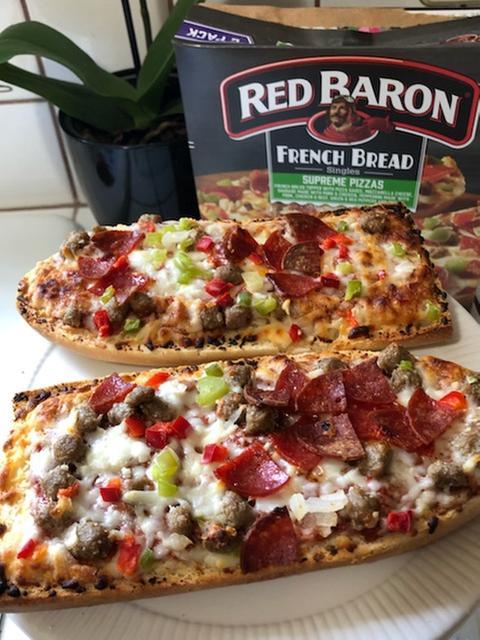 red baron pizza french bread singles supreme 2 count 11 60 oz