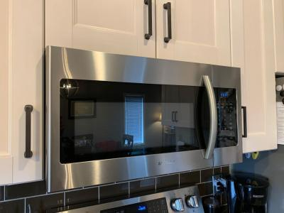 samsung 1 6 cu ft over the range microwave stainless steel