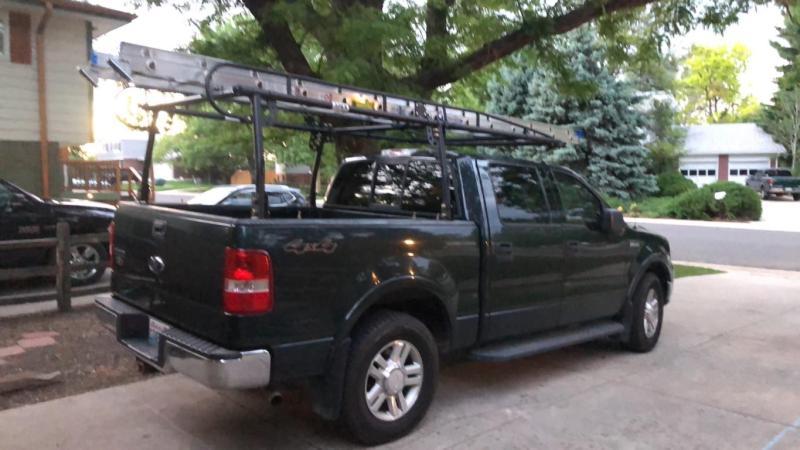 elevate outdoor uput rack v2 universal over cab steel truck rack 800 lb cap