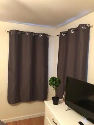 home details crystal ball curtain rod 24 48