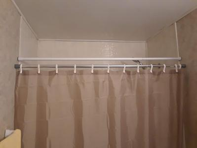 better homes gardens extra long adjustable 86 aluminum shower rod 1 each