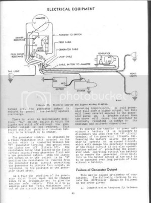 Farmall c Wiring diagram  Farmall & International
