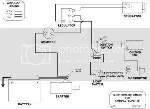 Wiring diagram for 43 farmall H  Yesterday's Tractors