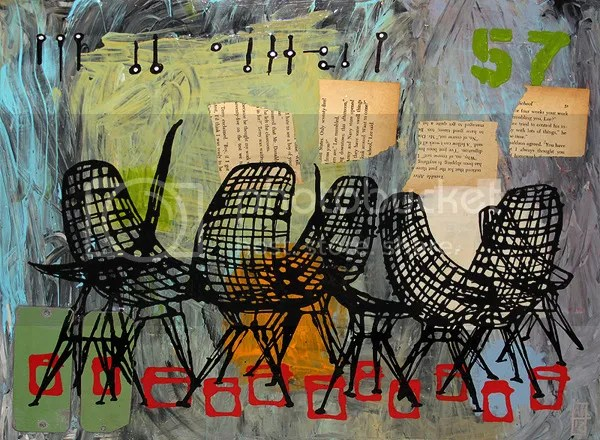 Wire Chairs - Aaron Kraten - 2012