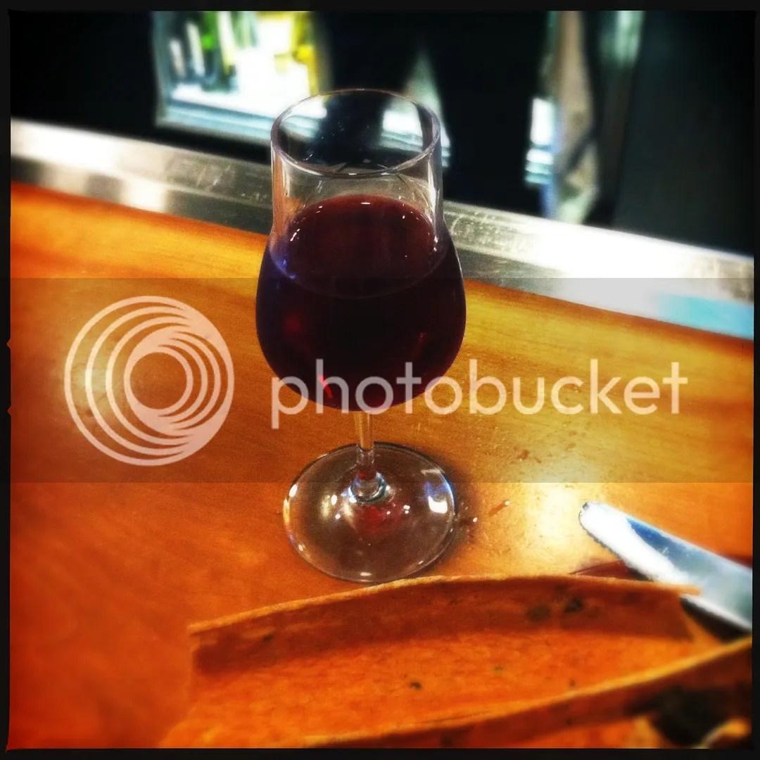 Mary's raspberry dessert wine