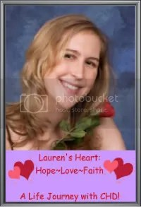 Lauren's Heart: Hope~Love~Faith