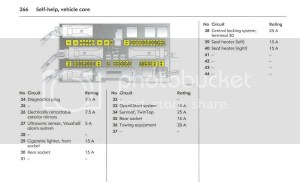 [Astra Mk5H] [0409]  Fuse box Diagram for 54 plate