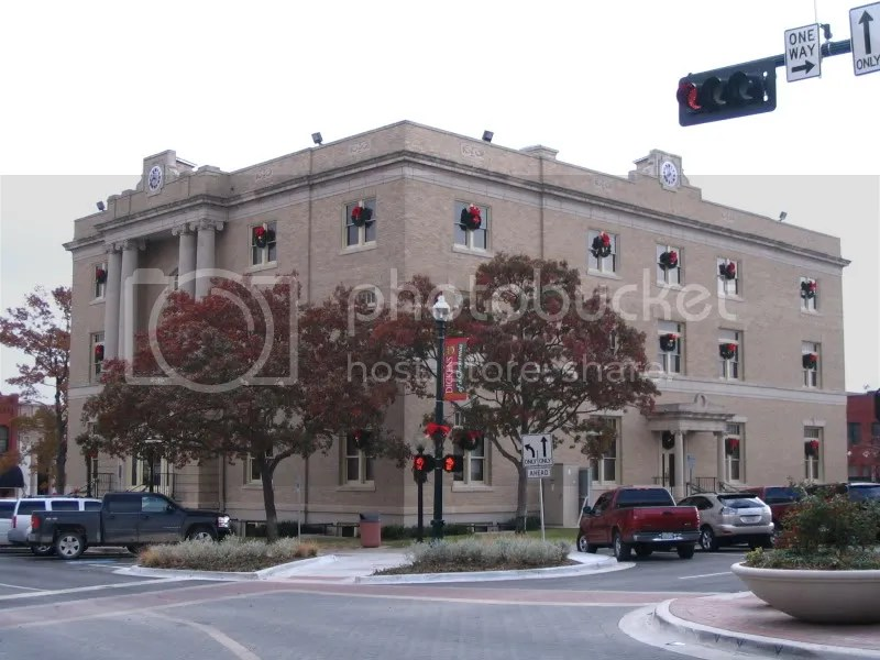 Courthouse Dressed for Christmas