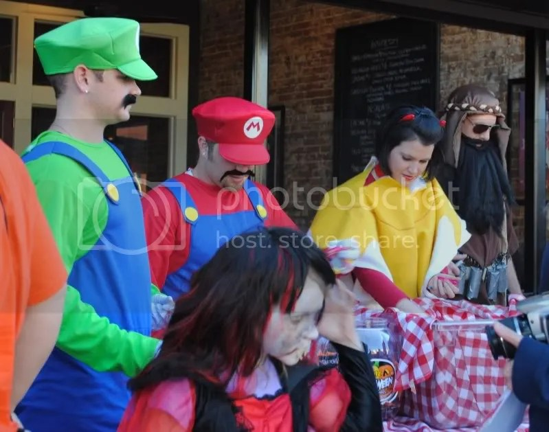 Mario Brothers at Sauce on the Square