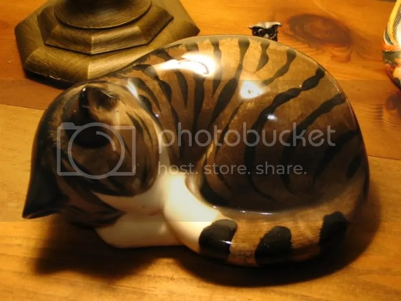 Cat Figurine from The Bear Market