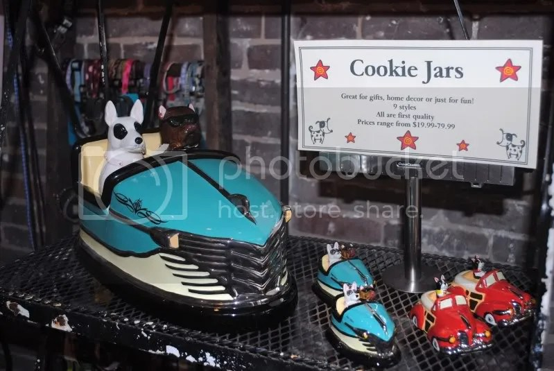 Cookie Jars at Canine Cookie Company