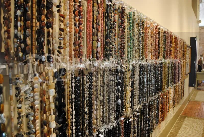 Bead Strands at Facets