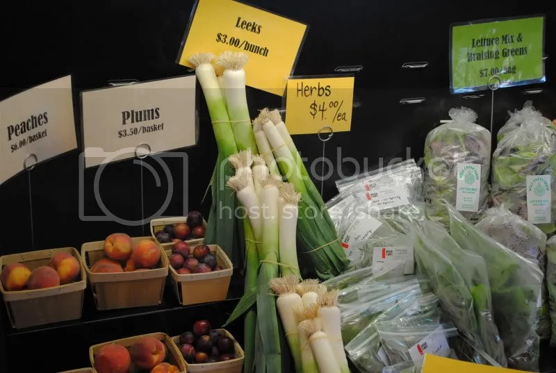 Organic Produce at Local Yocal