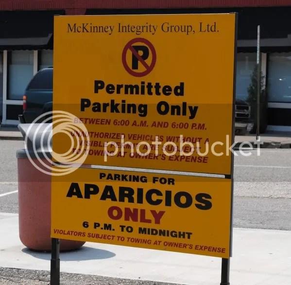 Aparicio's Parking