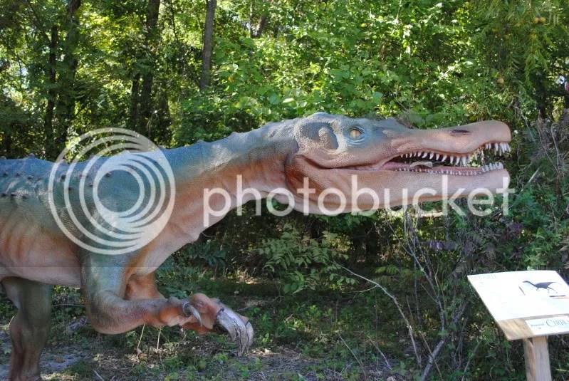 Dinosaur on The Heard's Laughlin Loop