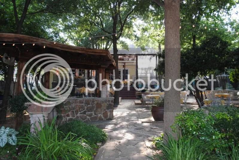 Cafe Malaga's Garden Patio