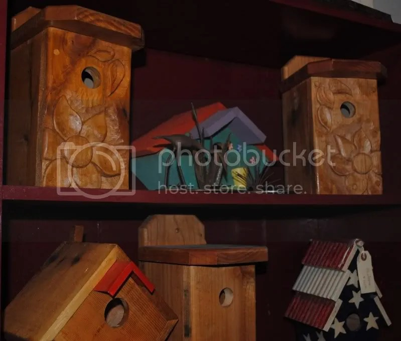 Locally Made Birdhouses at Diggin' It