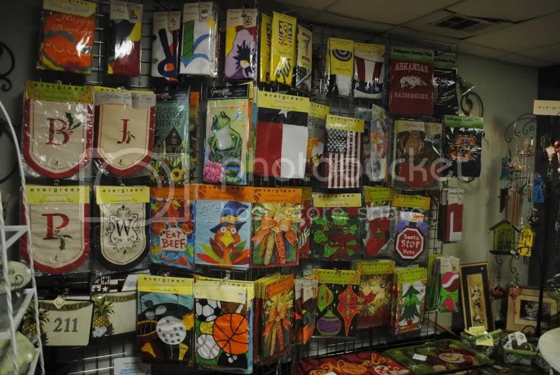 Garden Flags at The Sample Shop