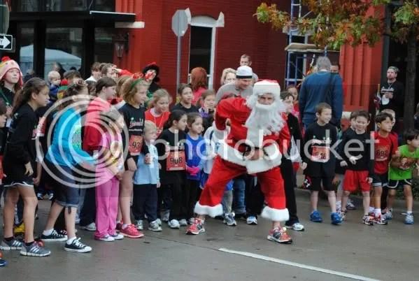 Santa's Ready for the Great Santa Chase