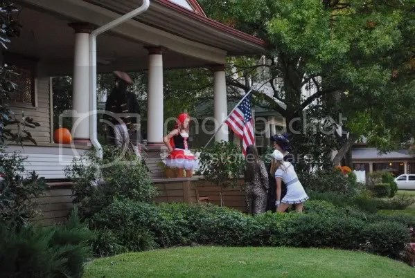Trick or Treating in the Historic District