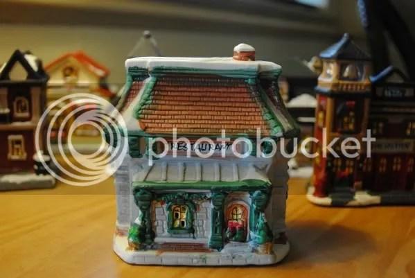 Cobblestone Corners Dollar Tree Christmas Village