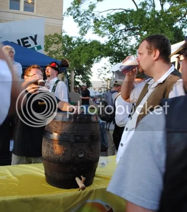 Franconia Keg Tapped for Oktoberfest