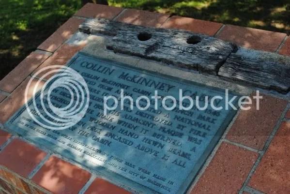 Site of Collin McKinney Cabin