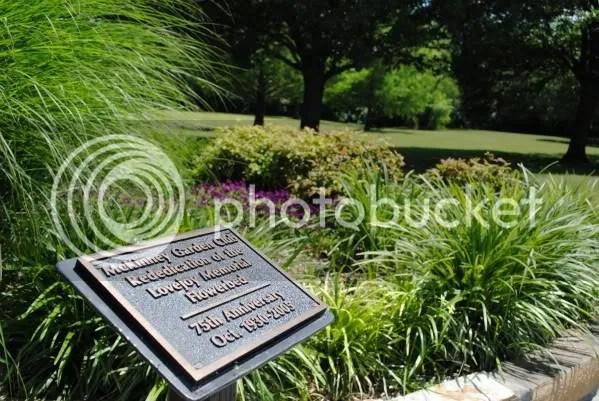 Garden Club Memorial Garden