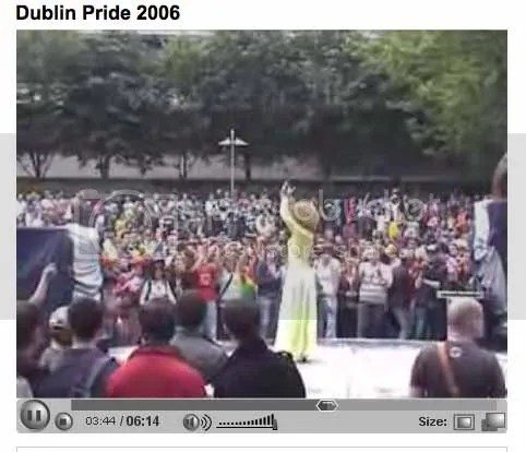 Pic of Panti @ Dublin Pride